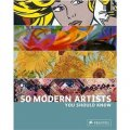 50 Modern Artists You Should Know [平裝]