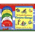 Curious George Complete Adventures Deluxe Book and CD Gift Set [平裝] (好奇猴喬治冒險書附CD套裝)