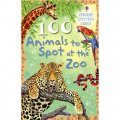 100 Animals to Spot at The Zoo [Cards] [平裝]