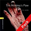 Oxford Bookworms Library Third Edition Stage 1: The Monkey s Paw (Book+CD) [平裝] (牛津書蟲系列 第三版 第一級:猴爪 (書附CD套裝))