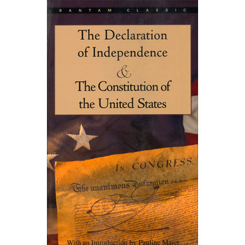 The Declaration of Independence and The Constitution of the United States [平裝] (獨立宣言與美國憲法)