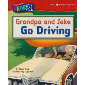Grandpa and Jake Go Driving, Unit 4, Book 4