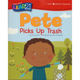 Pete Picks Up Trash, Unit 4, Book 6