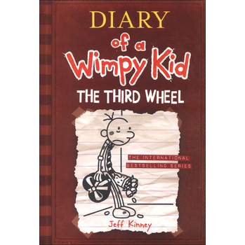 The Diary of a Wimpy Kid #7: The Third Wheel [平裝] (小屁孩日記7:電燈泡)