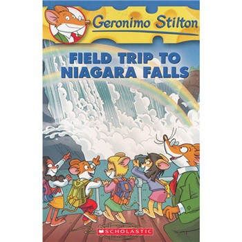 Geronimo Stilton #24: Field Trip to Niagara Falls [平裝] (老鼠記者24:瘋鼠馬拉松)